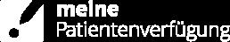 Logo Meine Patientenverfügung invers