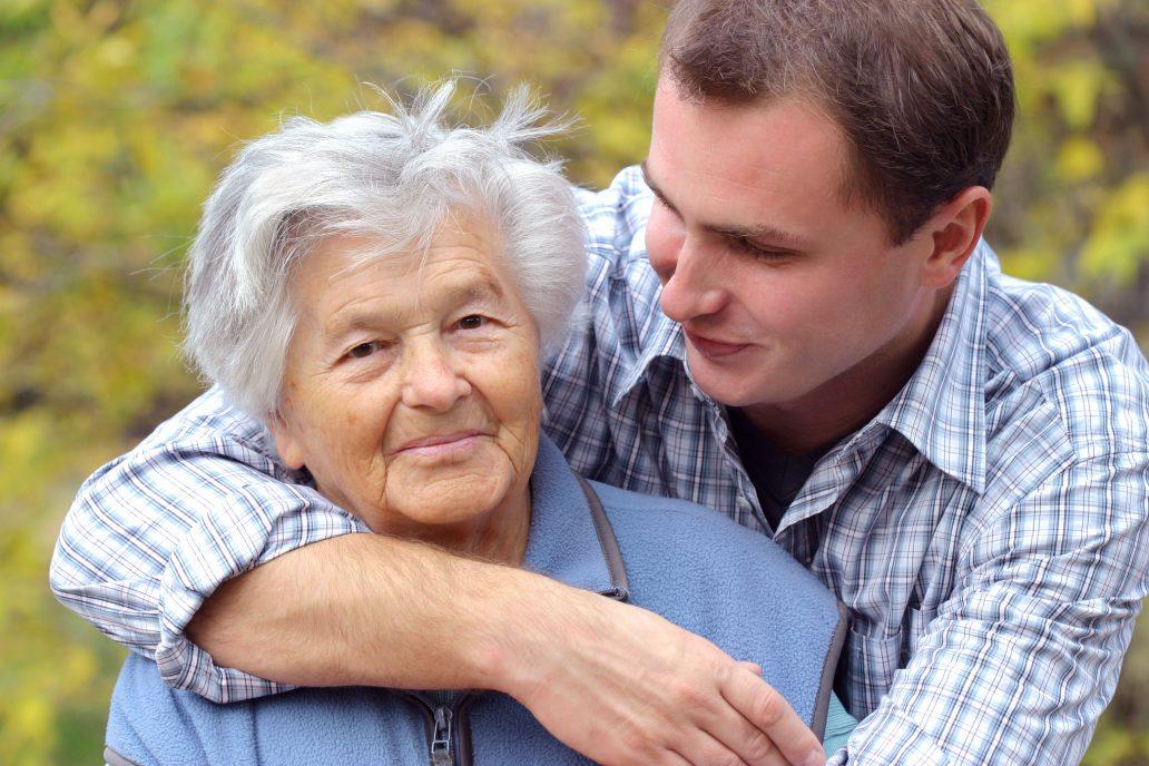 Enkel und Oma haben vorgesorgt