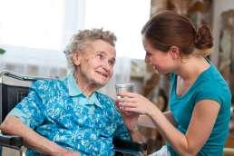 Betreuung im Pflegeheim