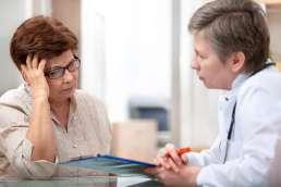Beratung bei Ärztin