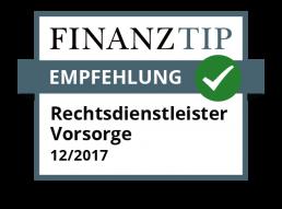 Von Finanztip empfohlen