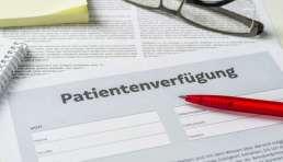 Patientenverfügung Definition & Bedeutung